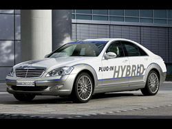 Classe S 2012 possuirá opção Plug-In Hybrid